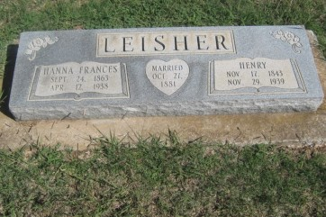 Leisher, Henry, Frances (Copy)