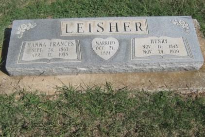 Leisher, Henry, Frances (Copy)